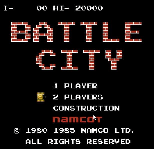 Battle City for NES